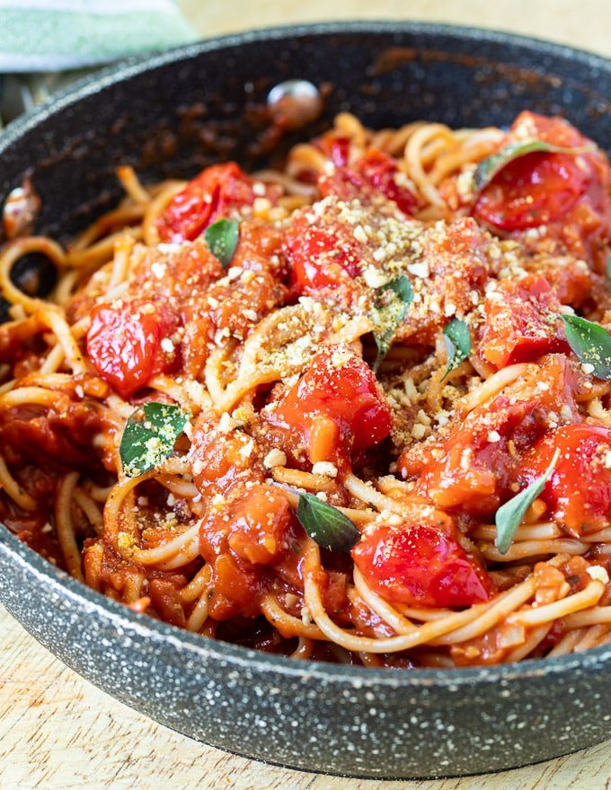 Cherry Tomato Sauce A Virtual Vegan
