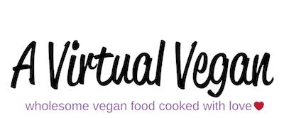A Virtual Vegan logo