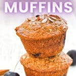 vegan cherry muffins