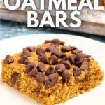 pumpkin oatmeal bar