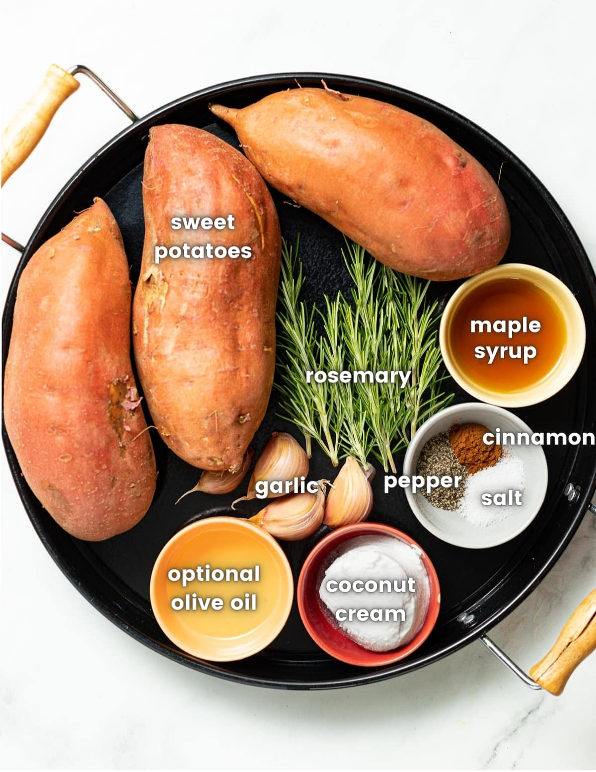 sweet potato mash ingredients
