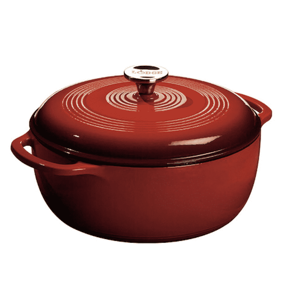 Lodge Dutch Oven in red