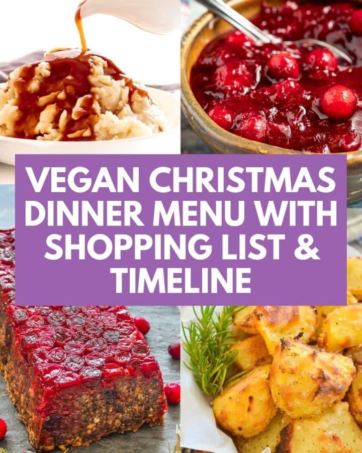 Vegan Christmas Dinner Menu