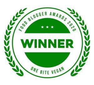 winner food blogger awards 2020