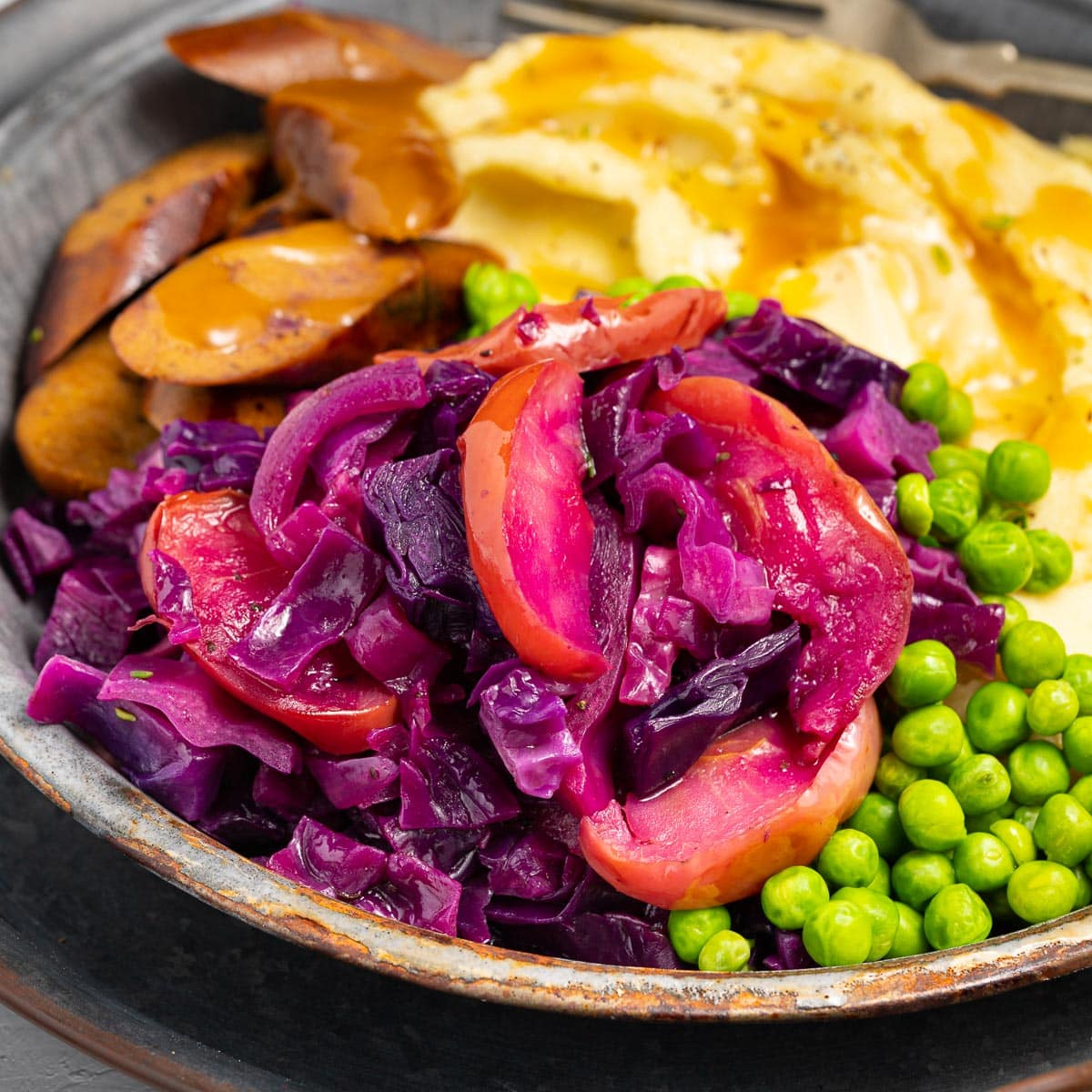 Roasted Red Cabbage A Virtual Vegan