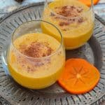 2 persimmon smoothies