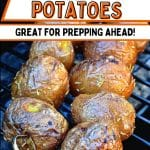 Grilled Baby Potatoes