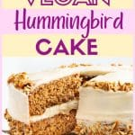 Vegan Hummingbird Cake