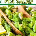 sugar snap pea salad