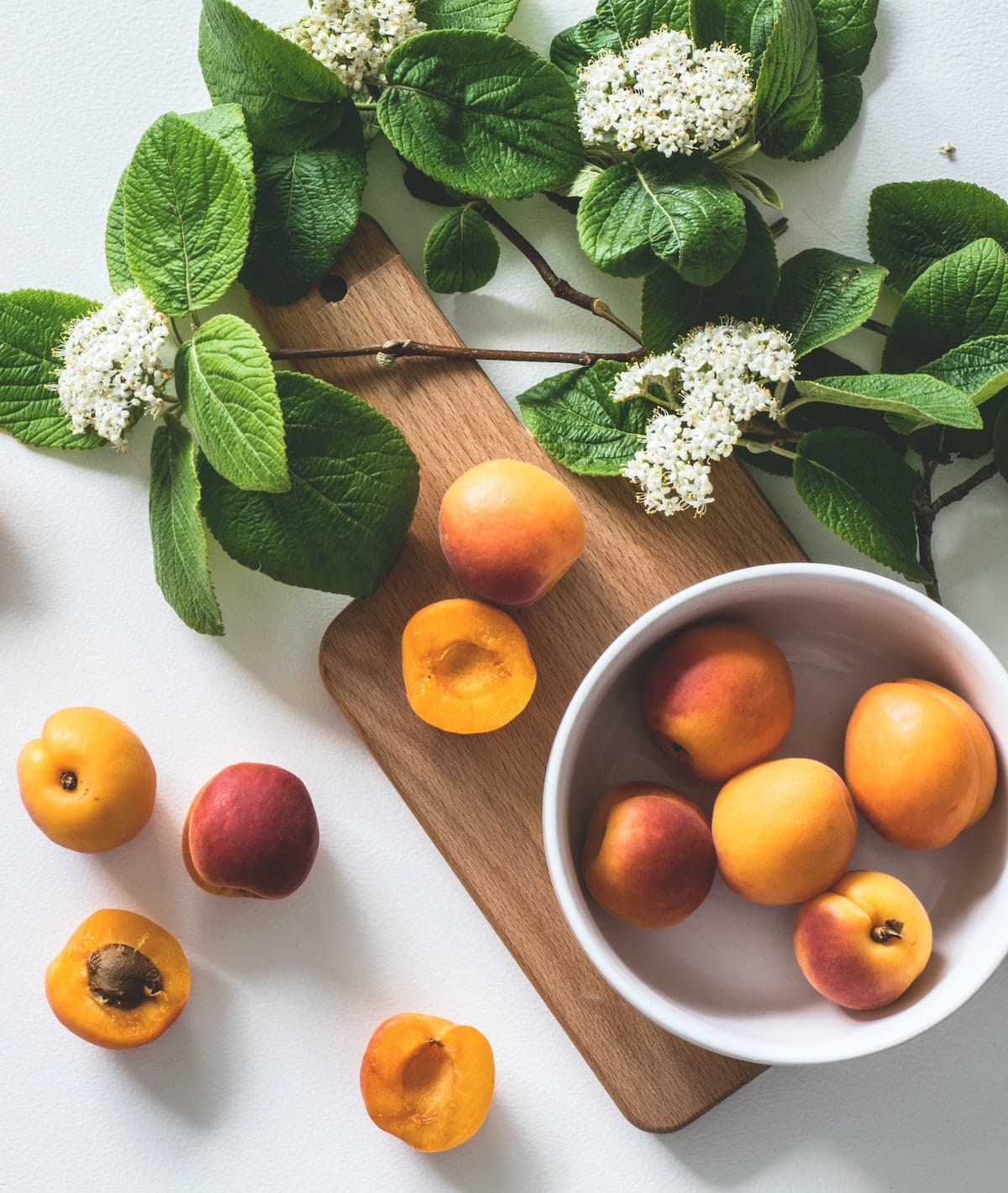 fresh nectarines