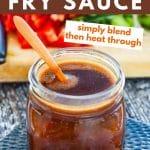 vegan stir fry sauce