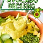 Vegan Avocado Dressing
